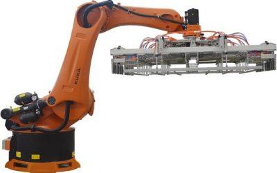 Robot xếp gạch tuynel tự động