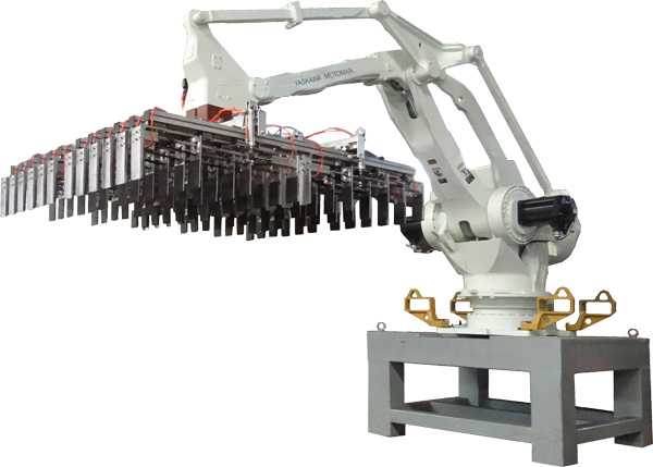 Robot xếp gạch Yaskawa 800kg tổ hợp đơn