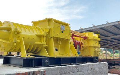 QUẢNG NAM: Bàn giao hệ thống dây chuyền sản xuất gạch tuynel đồng bộ.